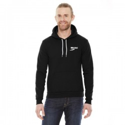 American Apparel Unisex Flex Fleece Drop Shoulder Pullover Hoodie