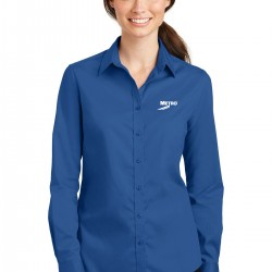 Port Authority SuperPro Ladies Twill Shirt