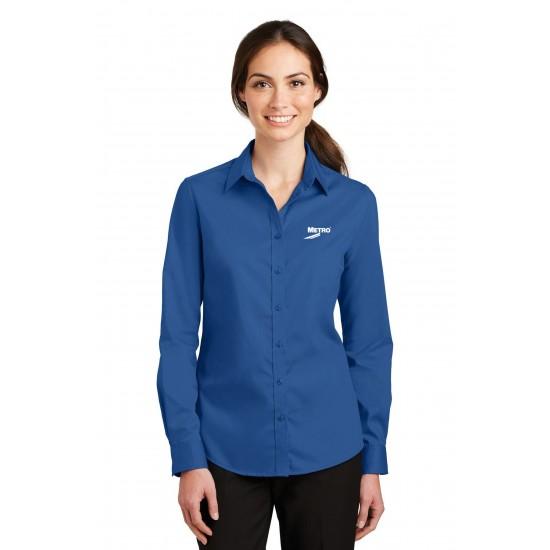 Port Authority SuperPro Ladies Twill Shirt