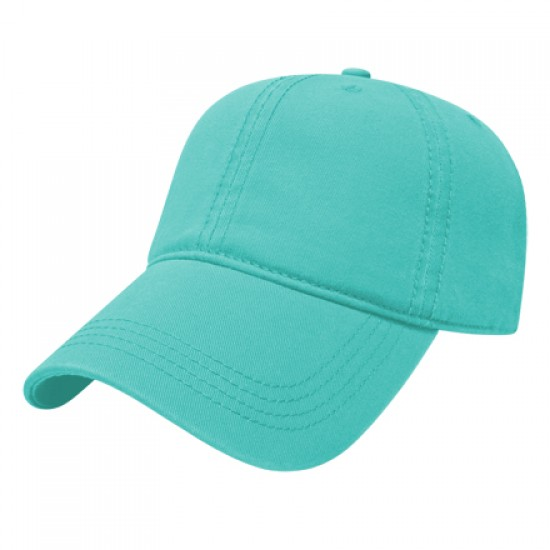 Unstructured Relaxed Golf Cap w/Sliding Buckle