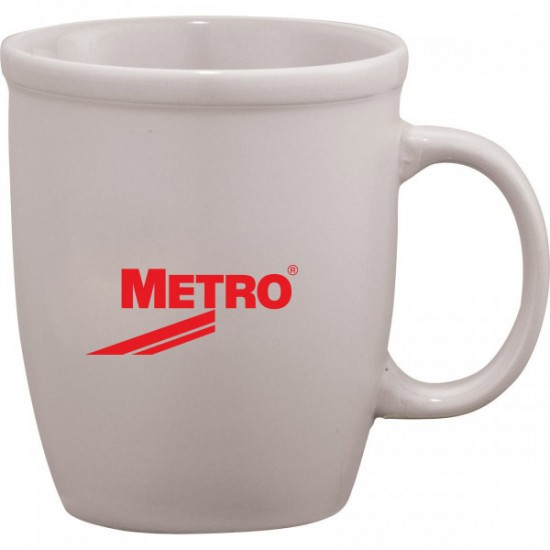 Cafe Au Lait Ceramic Mug 12oz