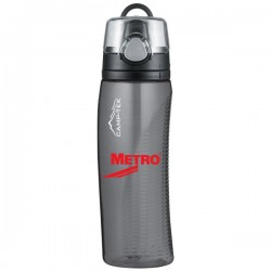 Thermos® Hydration Bottle with Meter - 24 Oz. Grey